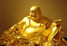 Vật phẩm phong thủy - Tượng Phật Di Lặc