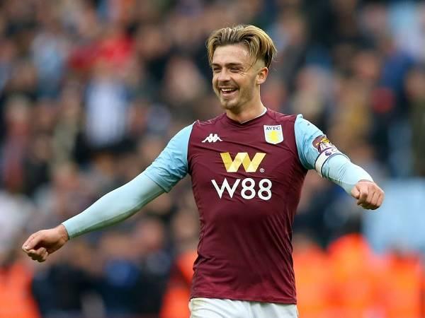Aston Villa không lo lắng về tương lai Jack Grealish