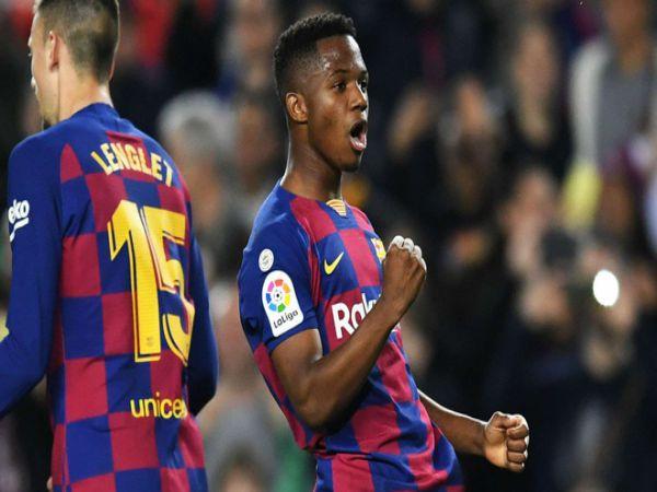 Barca 'hét' giá bán Ansu Fati 170 triệu euro