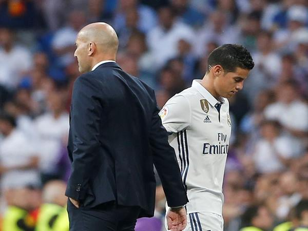 James Rodriguez rời Real Madrid chuyển đến Everton