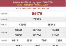 Phân tích XSMB 18/9/2020 thứ 6 siêu chuẩn cùng cao thủ