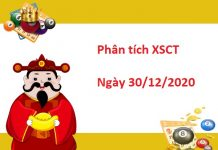 Phân tích XSCT 30/12/2020