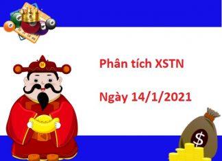 Phân tích XSTN 14/1/2021