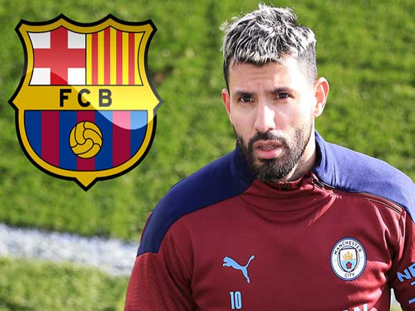 Tin chuyển nhượng trưa 16/3 : Aguero chốt hợp đồng 2 năm với Barca