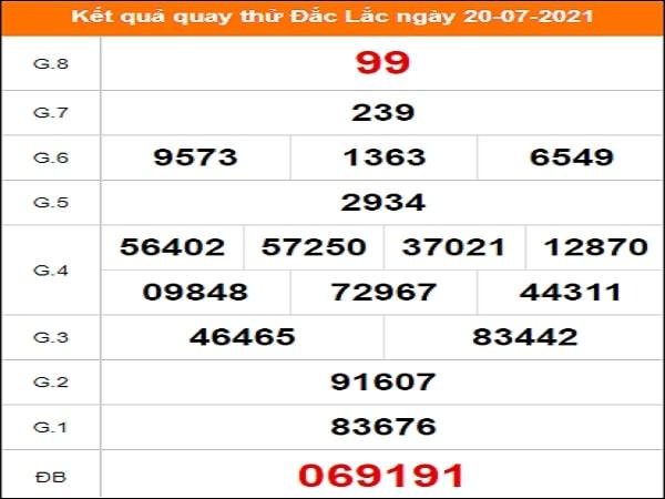 Quay thử xổ số Quảng Nam ngày 20/7/2021