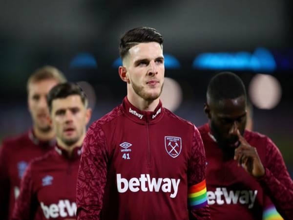 Chuyển nhượng 4/8: West Ham ra giá đắt đỏ bán Declan Rice cho MU