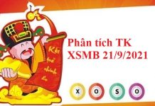 Phân tích thống kê KQXSMB 21/9/2021
