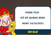 Phân tích xổ số Quảng Bình 14/10/2021 thứ 5 hôm nay chuẩn xác